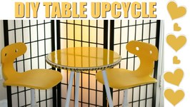 DIY - Upcycled Table - Mark Montano Inspired