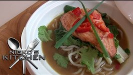 Hoisin Chicken With Five Spice Broth