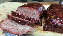 RecTec Grill-Smoked BBQ Meatloaf