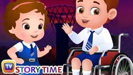 The New Boy In Class - ChuChuTV Storytime Good Habits Bedtime Stories for Kids