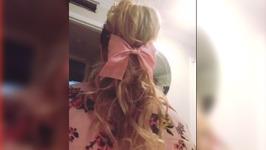 5 min Vintage Inspired Hairdo