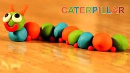 Play Doh Caterpillar