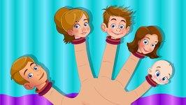 Finger Family - Kindergarten Nursery Rhymes For Children - Cartoons For Toddlers