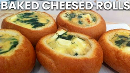 Baked Cheesed Rolls