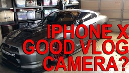 Is the iPhone X a Good VLOG camera