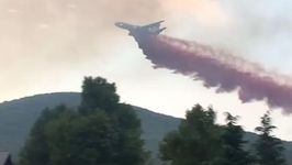 Evacuations Ordered as Airtankers Respond to Goodwin Fire in Arizona