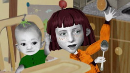 S01 E16 - Green Envy?, Two Can Play - Angela Anaconda
