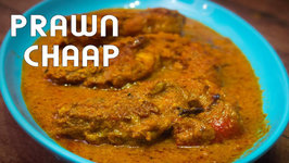 Prawn Chaap - Chingri Chanp - Delicious Mughlai Prawn Curry - Prawn Gravy