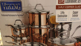 Unboxing / Viking 3-Ply Cookware
