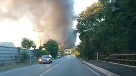 Residents Warned to Avoid Polluted Air From Scrap Centre Fire Near Milan