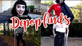 How To Style Depop Finds - Lookbook And Haul