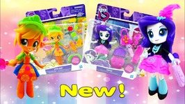 My Little Pony Equestria Girls Minis Applejack Fruit Smoothies Rarity Trendy Accessory Shop