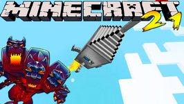 Minecraft Mods - MONSTERCRAFT - Ep  21 'BUILDING OUR ROCKET'