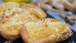 Torrijas de pan al Horno / Torrijas al Horno / Torrijas en el Horno / Torrijas Faciles y Ligeras