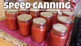 Speed Canning Tomatoes