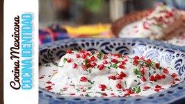 Cómo hacer Chiles en Nogada. Receta de Yuri de Gortari