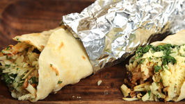 How To Make Burrito - Homemade Burritos - Nick Saraf's Foodlog