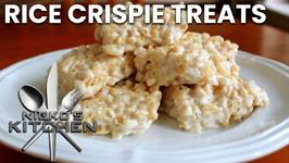 Rice Crispie Treats (4 Ingredients)