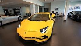 New Giallo Orion Lamborghini Aventador S Walk Around - Start Up - IG Short