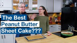 Glen Makes The Most Watched Peanut Butter Texas Sheet Cake Recipe