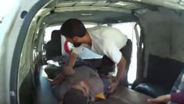 Boy Injured in Airstrike North of Homs