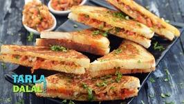 Quick Sandwich -Veg Tava Sandwich