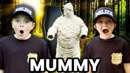 There's A Mummy Loose In The Haunted Woods! Ryan And Smalls Save The Day