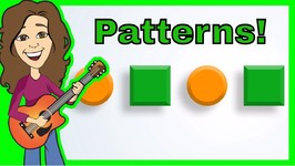 Patterns And Colors Childrens Song - Green Orange Shapes Patterns