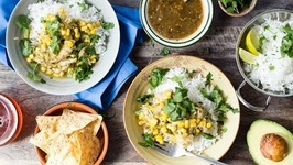 Chicken Chile Verde - Easy Slow Cooker Meals