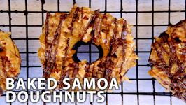 Baked Samoa Doughnuts