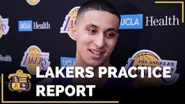 Lakers Practice - Kyle Kuzma Compares Himself To Players Like LeBron, Giannis