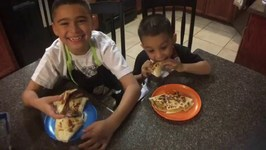 QUESADILLA CHALLENGE with CHEFS DAMIAN and DEION!