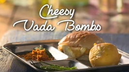 How To Make Cheese Burst Vada Pav - Street Food Of Mumbai  Homemade Vada Pav