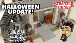 Lego Halloween Update - Building Stranger Things - Jack Skellingtons House