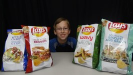 Lays Potato Chip Taste Test 2015