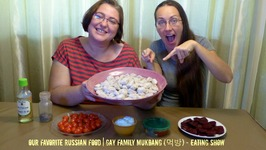 Our Favorite Russian Food / Gay Family Mukbang - Eating Show