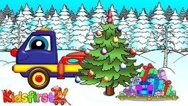 Christmas for Kids with a Kids' Truck and Jingle Bells