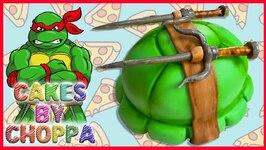 Easy Ninja Turtle Shell Cake
