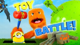 Toys Battle Review - Toy Videos For Children Girls And Boys - Unboxing Stop Motion Battle For Kids