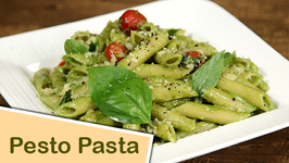 How To Make Pesto Pasta  Penne Pasta With Pesto Sauce  The Bombay Chef - Varun Inamdar
