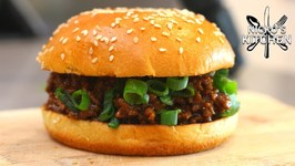Korean Style Beef Sloppy Joes / Easy Family Recipe