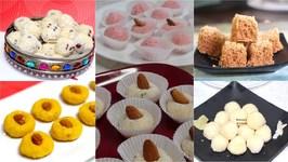 Quick Easy Coconut (Nariyel) Sweet Prasad Dessert