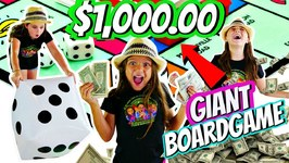 KIDS GIANT BOARD GAME CHALLENGE!! Winner Gets 1000!
