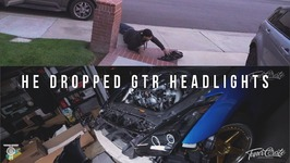 He Dropped Gtr Headlights And Install