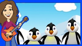 5 Little Penguins In Spanish Childrens Song - Canción De Pingüino Para Niños