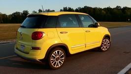 2018 Fiat 500 at Chicago Auto Show