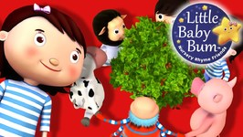 Here We Go Round The Mulberry Bush - Nursery Rhymes