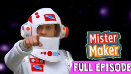 Intergalactic Space Make - Episode 11 - Full Episode - Mister Maker: Comes To Town