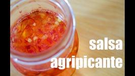 Salsa Agripicante - Receta Grabada Con Una Gopro