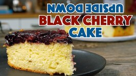 Black Cherry Upside Down Cake